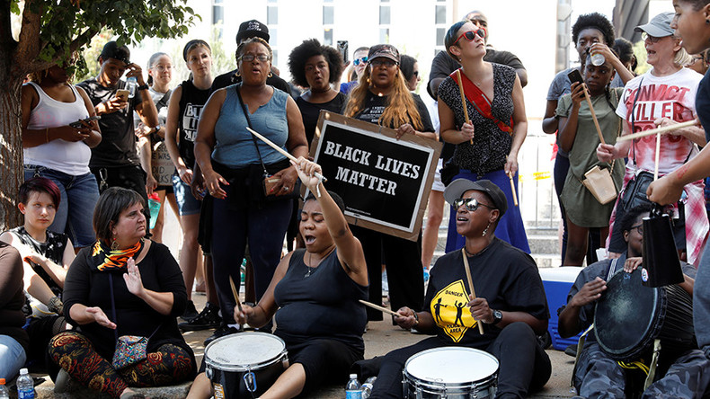 'Killer cops have got to go': Arrests at 'largely peaceful' St. Louis protest