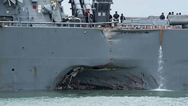 US Navy sacks more commanders after deadly warship collisions