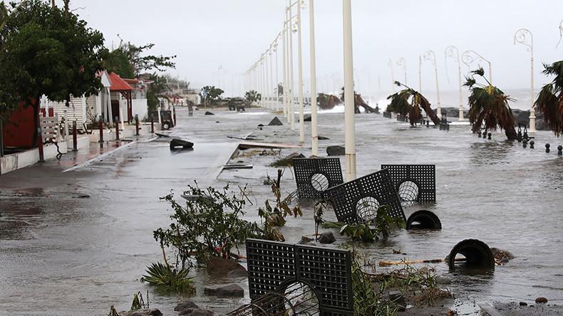 'Life threatening' Category 5 hurricane Maria barrels into Puerto Rico