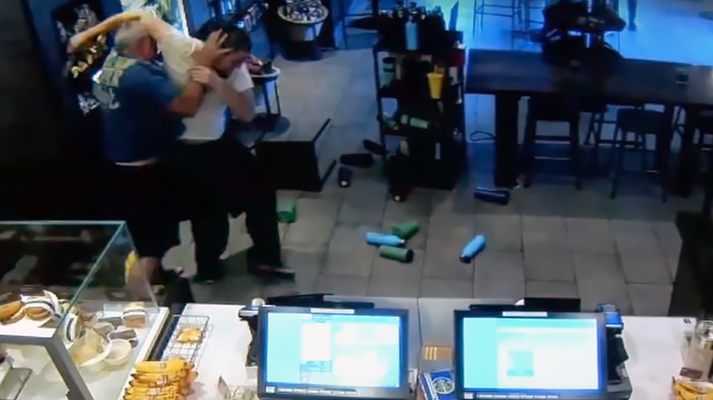 Starbucks 'hero' may be sued after stopping armed robbery (VIDEO)