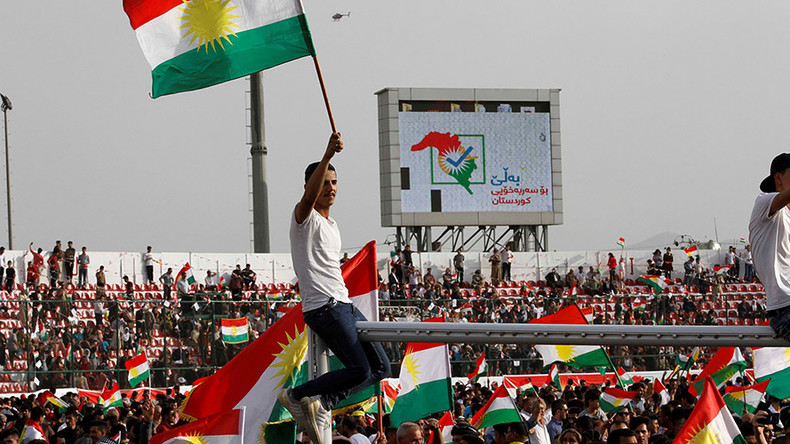 US 'strongly opposes' Kurdistan independence vote