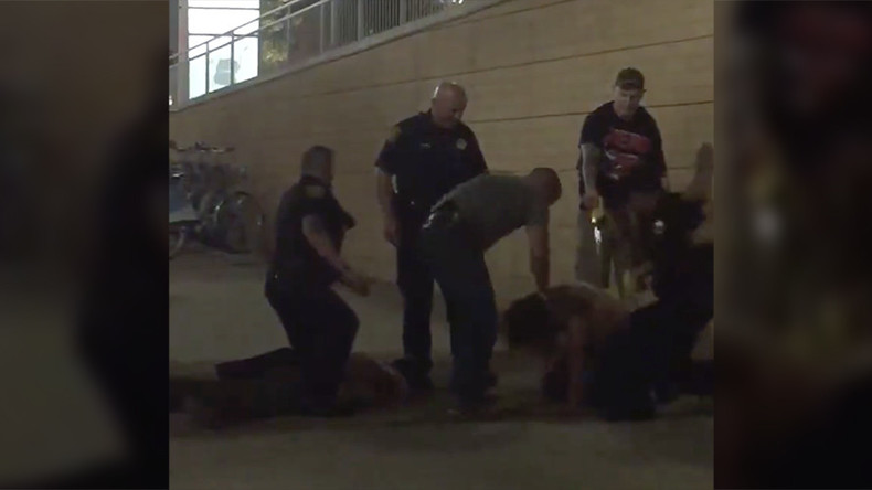 Police repeatedly punch man & smash his head off sidewalk during arrest