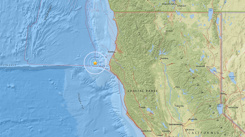 5.8 magnitude earthquake strikes N. California – USGS