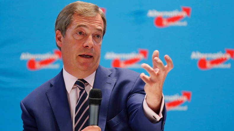 Nigel Farage will start new party if 'anti-Muslim' candidate wins UKIP leadership