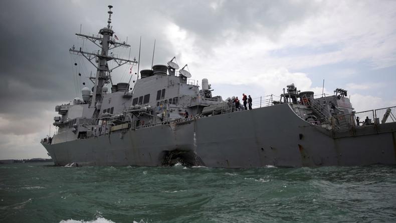 US Pacific Fleet commander announces retirement after Navy ship collisions