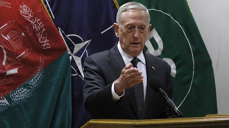 Rockets land in & around Kabul Airport after US Defense Secretary Mattis arrives for talks