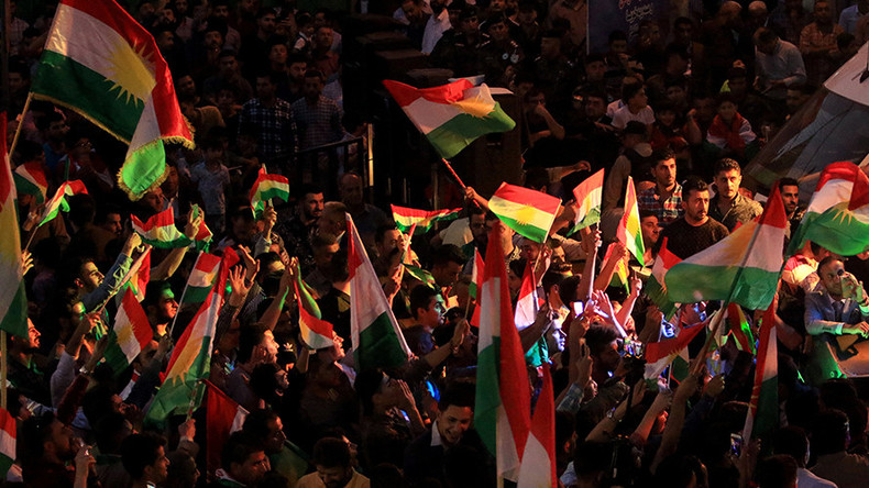 Top Senate Democrat urges Trump to back independence for Kurds