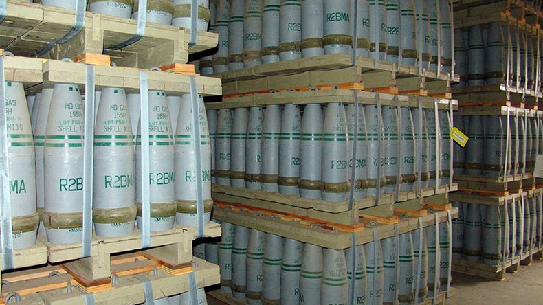 Toxic promise: US vows to destroy its chemical weapons.. despite being 5yrs behind schedule