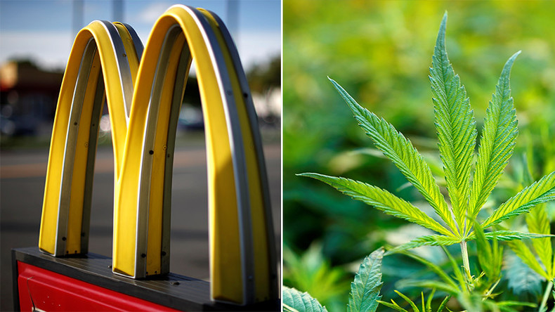 McDonald's becomes weed users' highest-ranking fast food joint