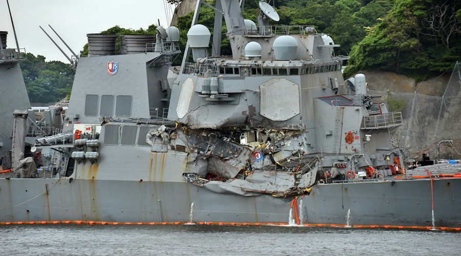 No cyber hacking in Fitzgerald and McCain warship accidents – US Navy