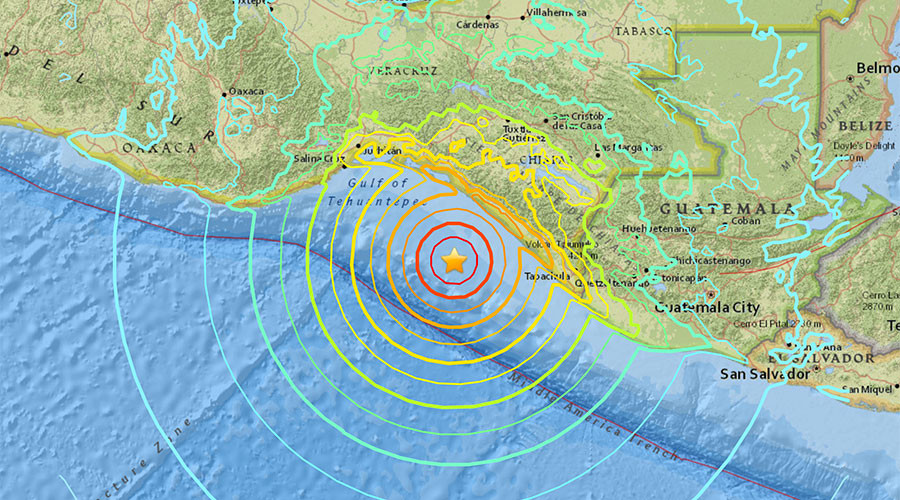 Tsunami warning as 8.0 quake strikes off south-western Mexico coast