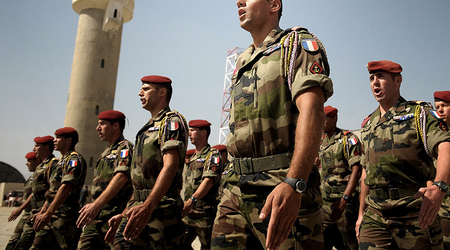 First casualty? French paratrooper killed in anti-terrorist op 'in Iraq/Syria'