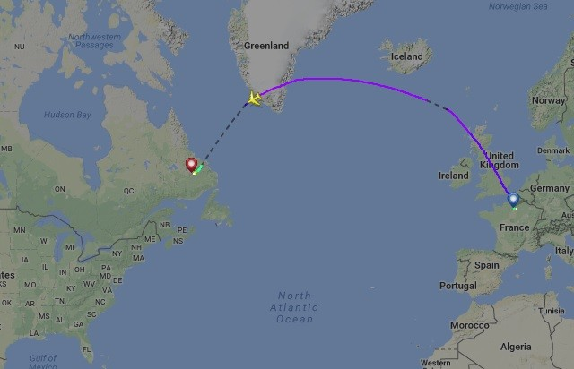 Air France flight from Paris to LA makes emergency landing in Canada
