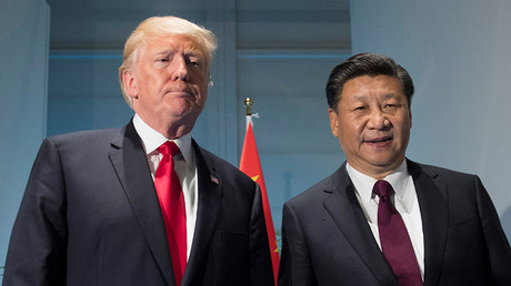 U.S. President Donald Trump and Chinese President Xi Jinping. © Saul Loeb