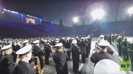 Spasskaya Tower 360: Closest-ever look at legendary military festival