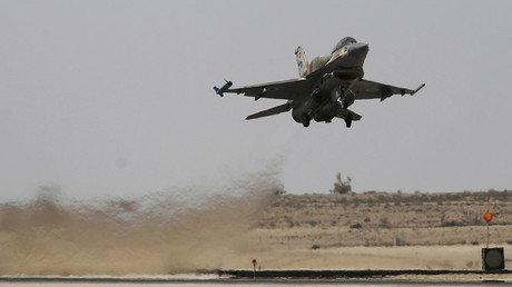 FILE PHOTO An Israeli F-16 fighter jet © Amir Cohen