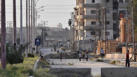 A street in Deir ez-Zor © Mikhail Voskresenskiy