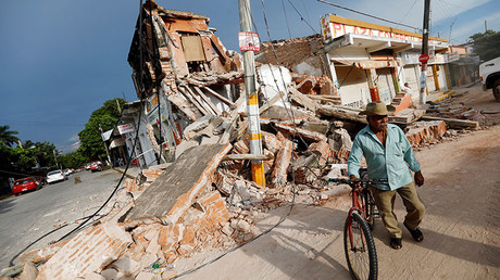 Aftermath of 'worst' in a century Mexico earthquake