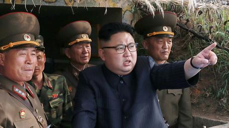 North Korean leader Kim Jong Un. ©KCNA