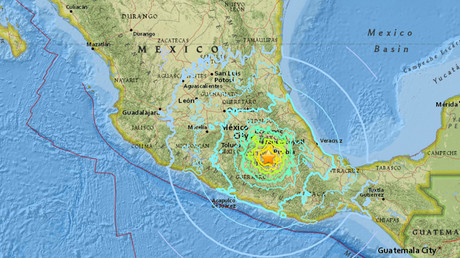 Powerful 7.1 earthquake hits southern Mexico, shaking buildings in capital