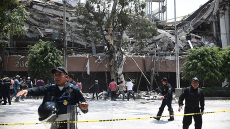 Earthquake hits Mexico city (VIDEO, PHOTO)