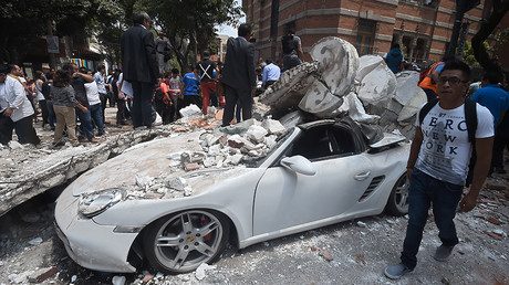 Mexico faces aftermath of devastating 7.1 quake