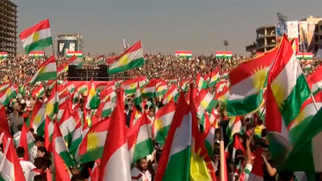 Kurds rally for independence ahead of referendum in Iraqi Kurdistan