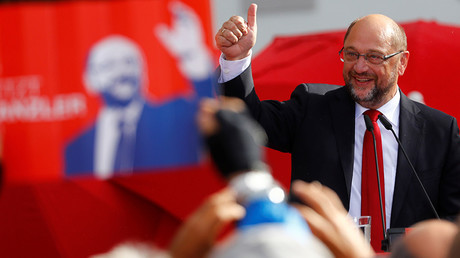 Man of the people, or Euro fat cat? Chancellor hopeful Martin Schulz bids to take Merkel's post