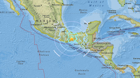 Magnitude 5.7 quake strikes off Mexican coast