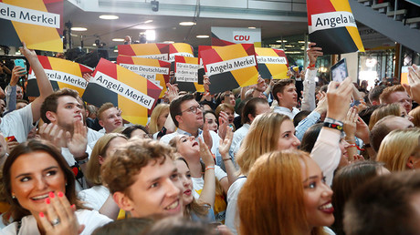 Merkel's CDU leads parliamentary polls with 32% - exit polls