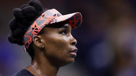 Venus Williams at 2017 US Open © Clive Brunskill