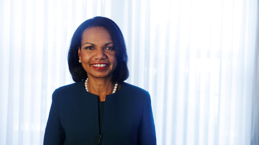 'I don't understand why civilians need military weapons' – Condi Rice
