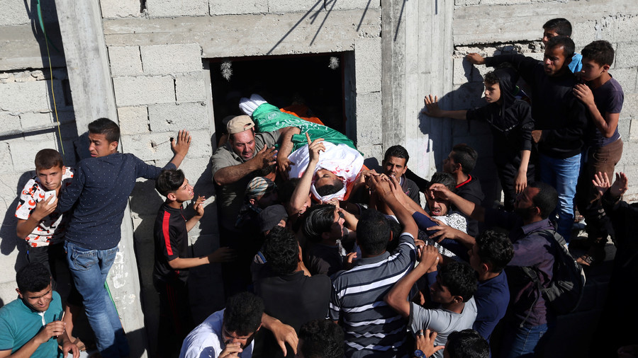 White House blames Hamas for Gaza deaths