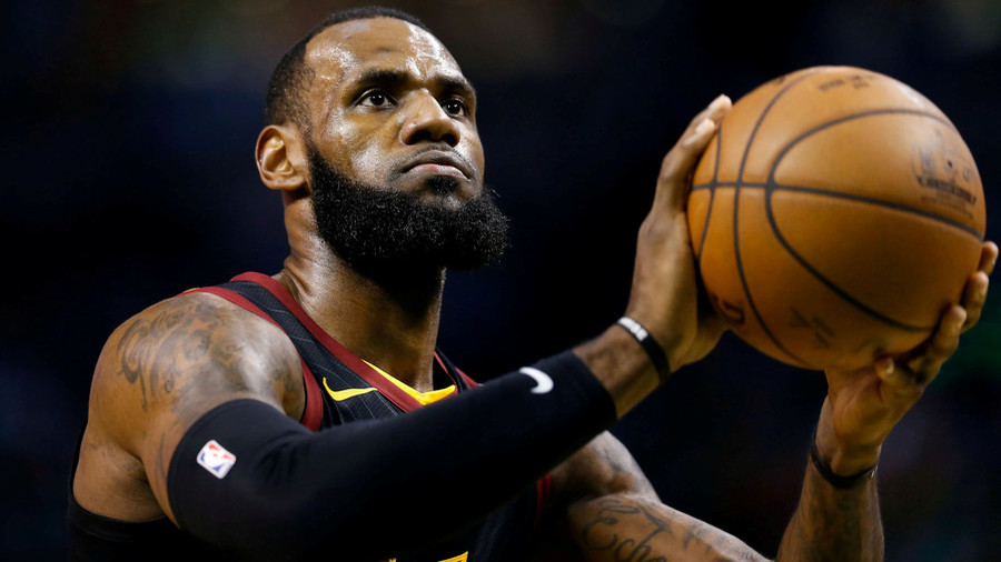 LeBron James Gets Heated After Bad Call Against His Son