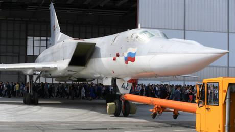 Tu-22M3M rolled out in Kazan, Russia. August 16, 2018 © Maksim Bogodvid