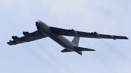 FILE PHOTO: A Boeing B-52 Stratofortress strategic bomber © Tim Chong