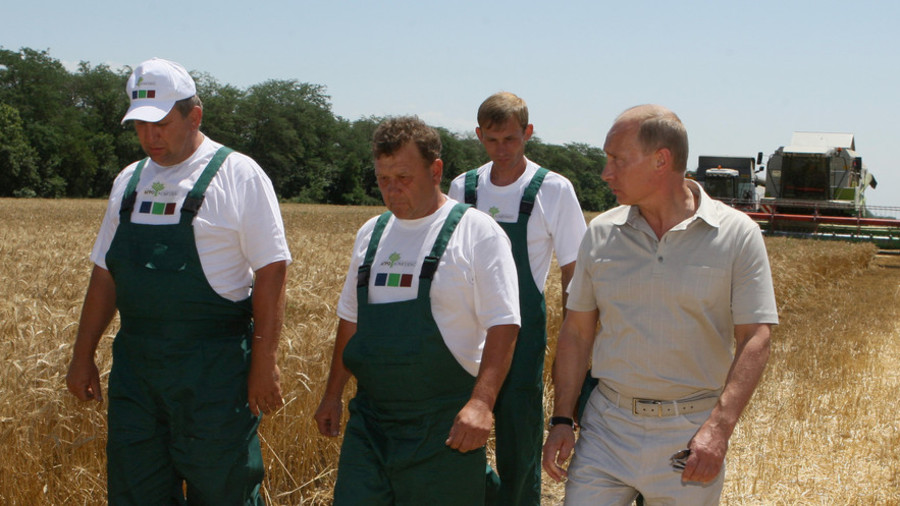 Give non-GMO a go: Putin urges Russia's agricultural expansion on international markets