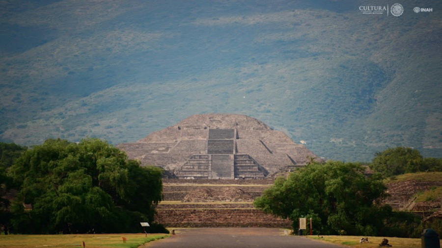 'Tunnel to the underworld': Strange subterranean passages found beneath ancient Mexican pyramid