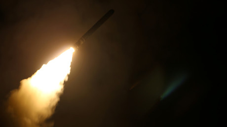 A Tomahawk missile launch. © US Navy Handout