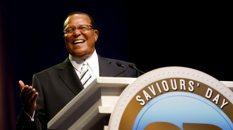Nation of Islam Leader Louis Farrakhan has sparked controversy with anti-semitic remarks in the past. © REUTERS/Rebecca Cook