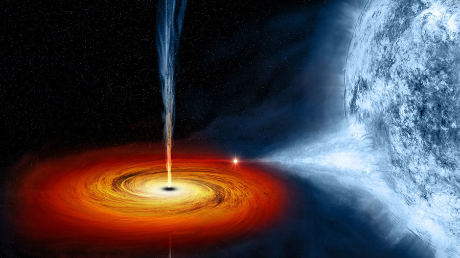 Massive Black Hole - Spectacular Spin & # 39; can turn the room around & # 39;