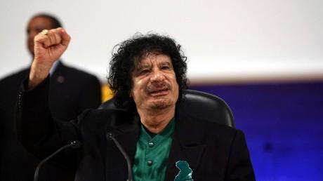 FILE PHOTO Libyan President Muammar Gaddafi speaks at the UNESCO, 2007 © Global Look Press