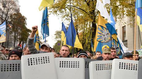 FILE PHOTO: Protesters in Kiev © Sputinik