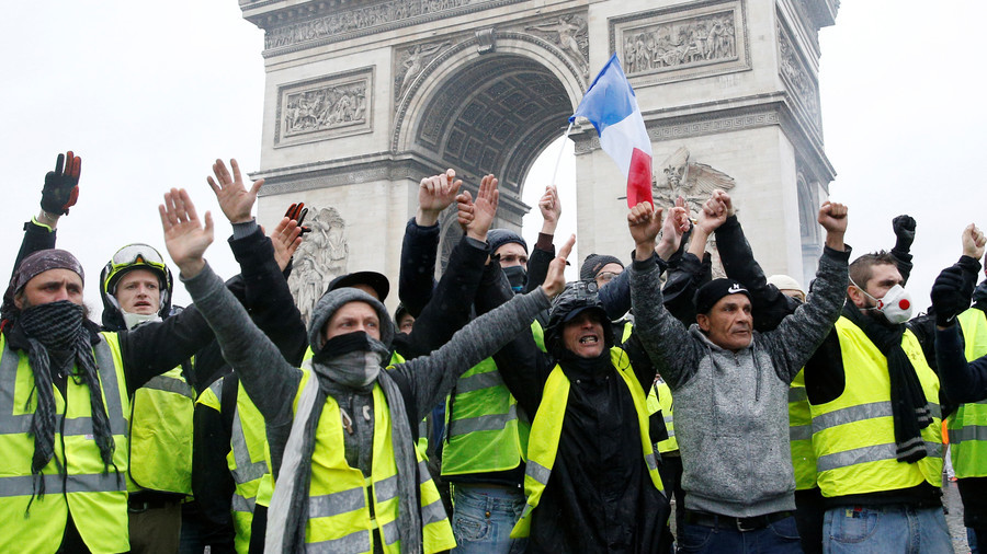 French Prime Minister gives 6 months of delay on increasing fuel tax! Victory #GiletsJaunes?