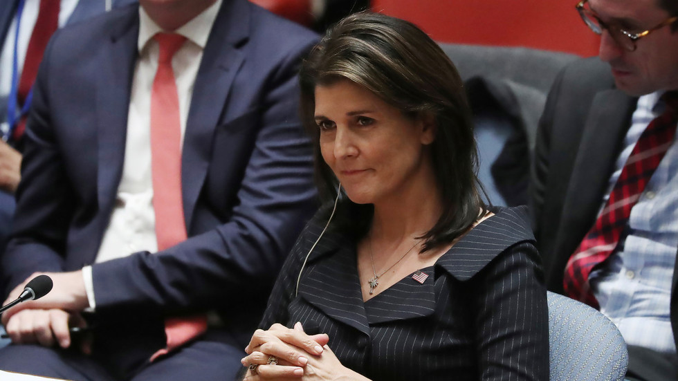 Pro-Israel bully Nikki Haley claims Trump's peace plan is actually better for Palestine