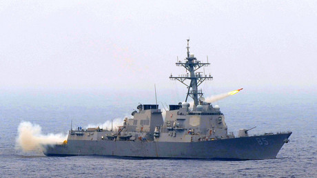 Guided missile destroyer USS McCampbell (file photo)