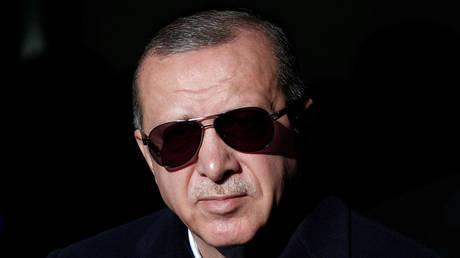 FILE PHOTO. Turkish President Tayyip Erdogan. ©Reuters / Murad Sezer