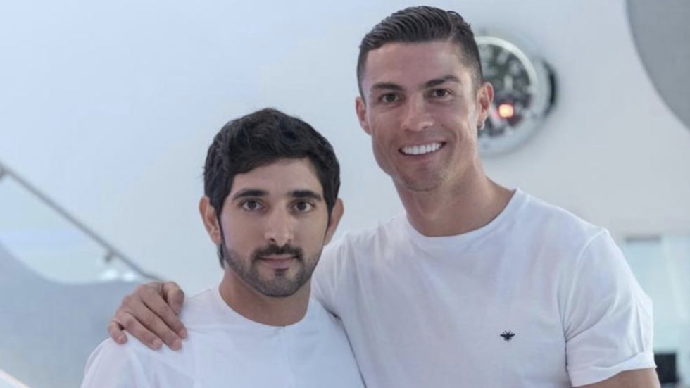 Ronaldo's selfie with Dubai Crown Prince causes social media meltdown