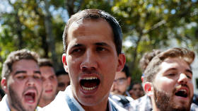 Trump backs big 'protests against ex-dictator Maduro' as he talks with Venezuela opposition's Guaido