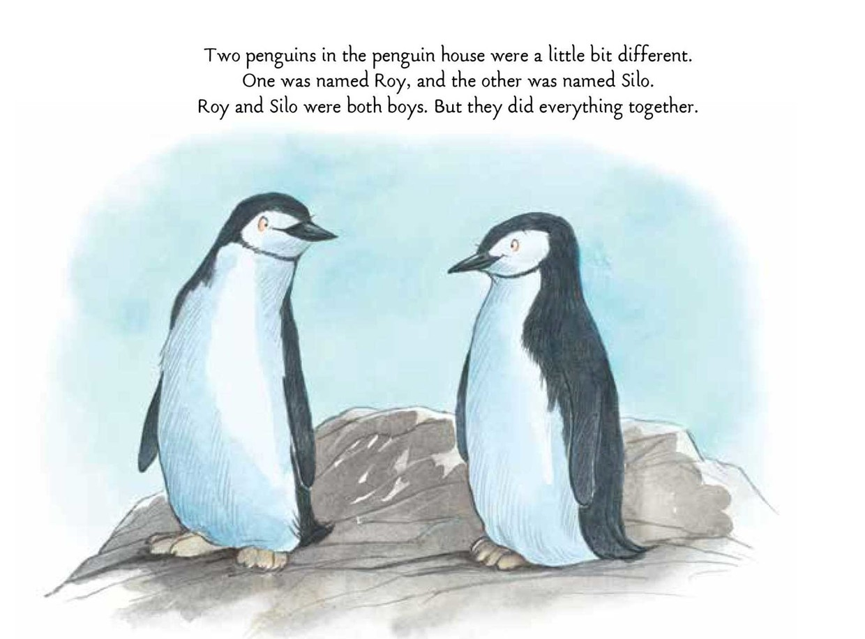 Tango Makes Three - a story of two gay penguins for primary schoolers.